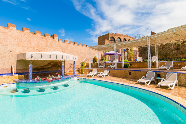 Piscine - Hôtel Kasbah Le Mirage 4* Marrakech Maroc