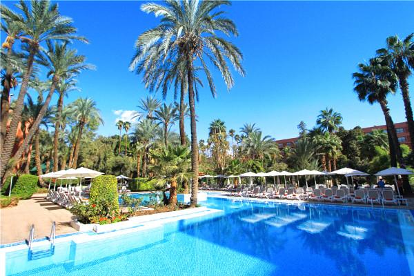 Piscine - Hôtel Kenzi Rose Garden (sans transport) 5* Marrakech Maroc