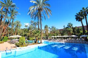Maroc-Marrakech, Hôtel Kenzi Rose Garden