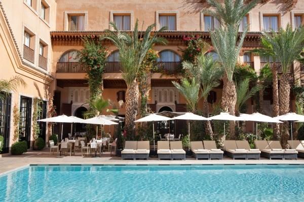 Piscine - Hôtel Les Jardins De La Koutoubia 5* Marrakech Maroc