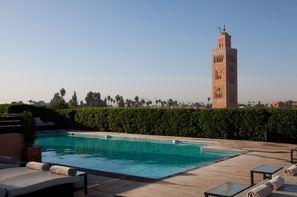Maroc-Marrakech, Hôtel Les Jardins De La Koutoubia