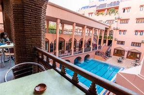 Maroc-Marrakech, Hôtel Oudaya & Spa