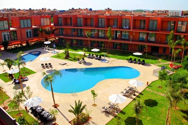 Piscine - Hôtel Rawabi 4* Marrakech Maroc