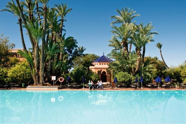 Piscine - Hôtel Riu Tikida Garden (sans transport) 4* Marrakech Maroc