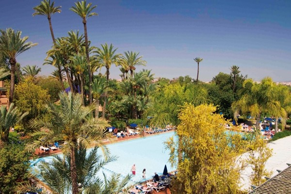 Piscine - Hôtel Riu Tikida Garden 4* Marrakech Maroc