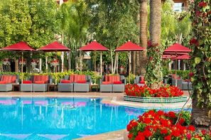 Maroc-Marrakech, Hôtel Sofitel Marrakech Lounge & Spa