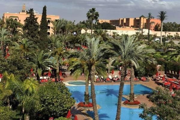 Piscine - Hôtel Sofitel Marrakech Palais Imperial 5* Marrakech Maroc