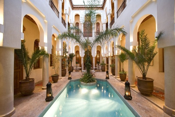 Reception - Hôtel Riads Angsana Collection 4* Marrakech Maroc