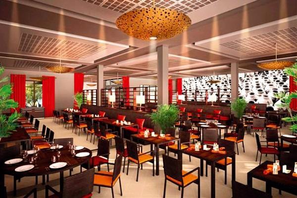 Restaurant - Hôtel Aqua Mirage 4* Marrakech Maroc