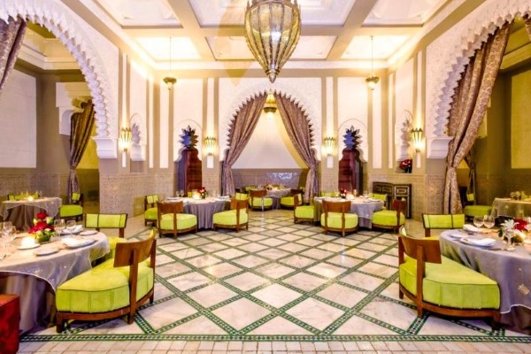 Restaurant - Club FTI Voyages Les Jardins De L'Agdal 5* Marrakech Maroc