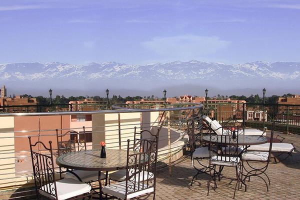 Terrasse - Dellarosa 4* Marrakech Maroc