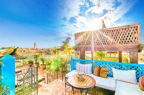 Vacances Marrakech: Riad Dromadaire Bleu