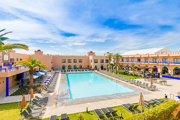 Vue panoramique - Hôtel Adam Park Hotel & Spa 5* Marrakech Maroc