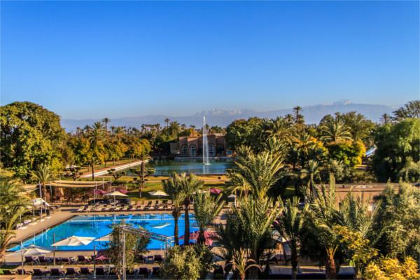 Vue panoramique - Barceló Palmeraie 5* Marrakech Maroc