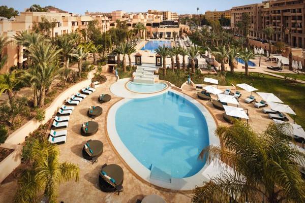 Vue panoramique - Movenpick Mansour Eddahbi 5* Marrakech Maroc