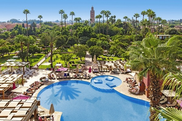 Vue panoramique - Hôtel Tui Sensimar Medina Gardens 4* Marrakech Maroc