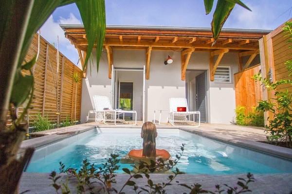 Piscine - Hôtel French Coco Luxury Boutique 4* Fort De France Martinique