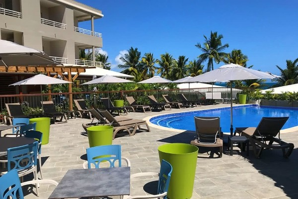 Piscine - Hôtel Hôtel Diamant Les Bains 4* Fort De France Martinique