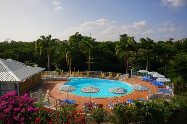 H tel karibea resort sainte luce les amandiers 3 location de voiture martinique fort de - Piscine miroir prix fort de france ...