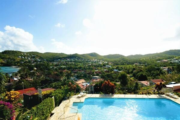 Piscine - Résidence hôtelière Panoramic 3* Fort De France Martinique