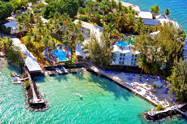Vue panoramique - Hôtel Carayou 3* Fort De France Martinique