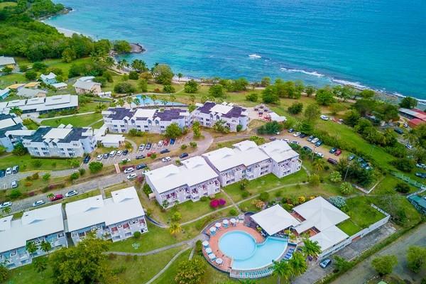 Vue panoramique - Hôtel Karibea Sainte Luce Hotel 3* Fort De France Martinique