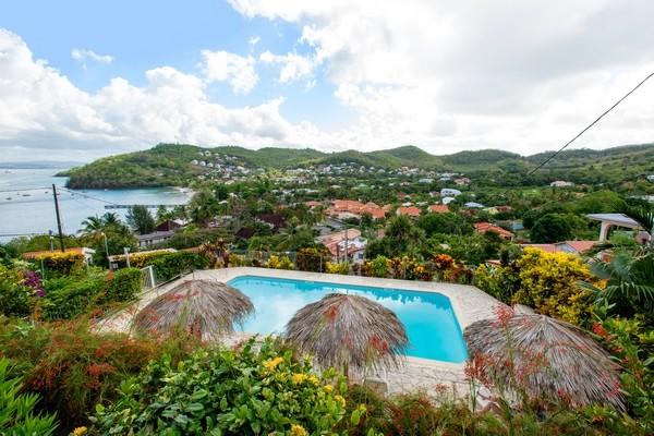 Vue panoramique - Résidence hôtelière Panoramic 3* Fort De France Martinique