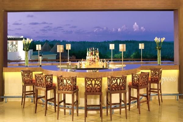 Bar - Hôtel Dreams Riviera Cancun 5* Cancun Mexique