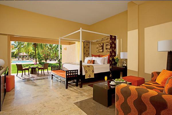 Chambre - Dreams Puerto Aventuras Resort & Spa 4* Cancun Mexique