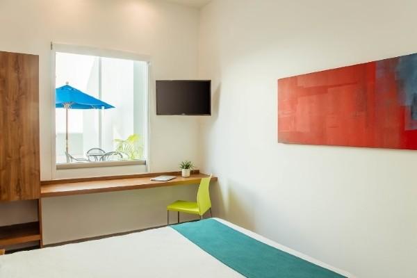 Chambre - Hôtel One Playa Del Carmen 3* Cancun Mexique