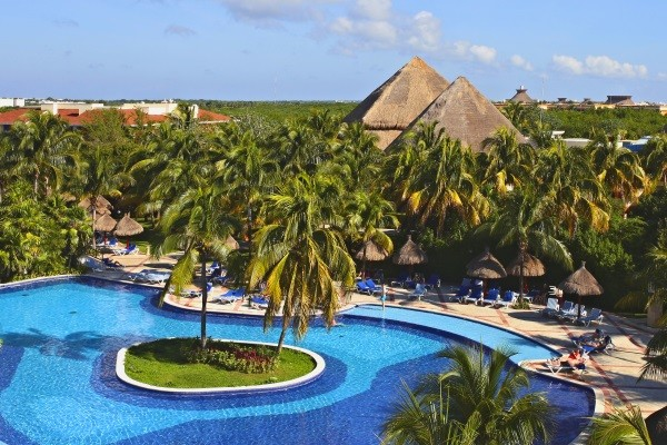 Piscine - Bahia Principe Coba 5* Cancun Mexique
