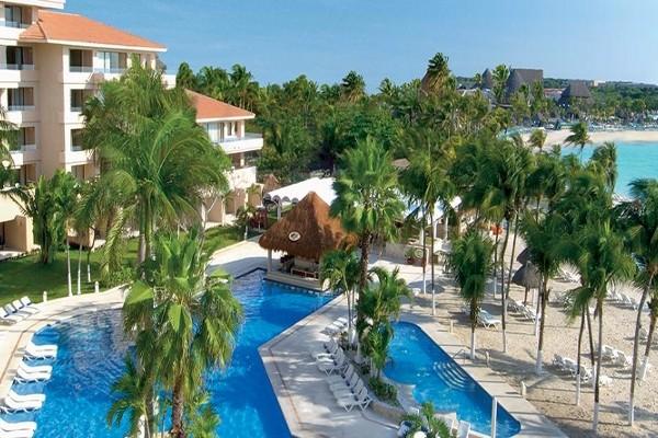 Piscine - Hôtel Dreams Puerto Aventuras Resort & Spa 4* Cancun Mexique