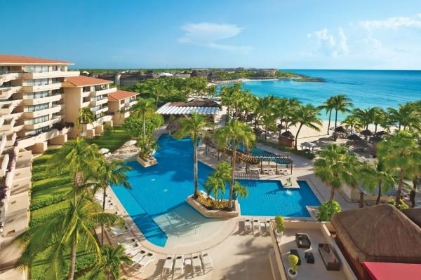 Piscine - Dreams Puerto Aventuras Resort & Spa 4* Cancun Mexique