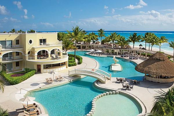 Piscine - Hôtel Dreams Tulum Resort & Spa 5* Cancun Mexique