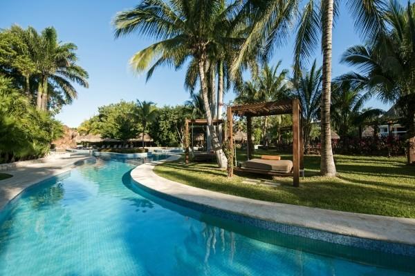 Piscine - Hôtel Iberostar Paraiso Beach 5* Cancun Mexique