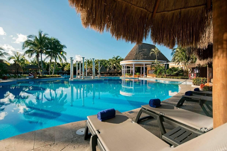 Piscine - Iberostar Paraiso Del Mar 5* Cancun Mexique