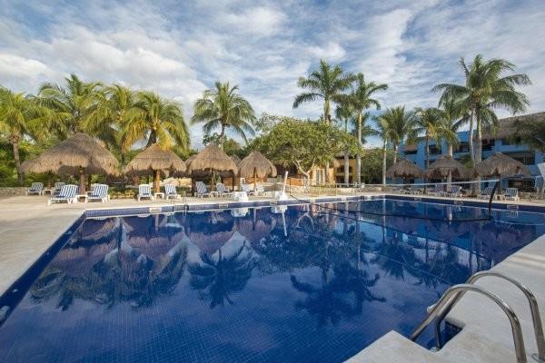 Piscine - Hôtel Iberostar Selection Paraiso Maya 5* Cancun Mexique
