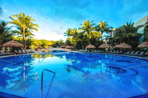 Piscine - Occidental at Xcaret Destination 5* Playa Del Carmen MEXIQUE