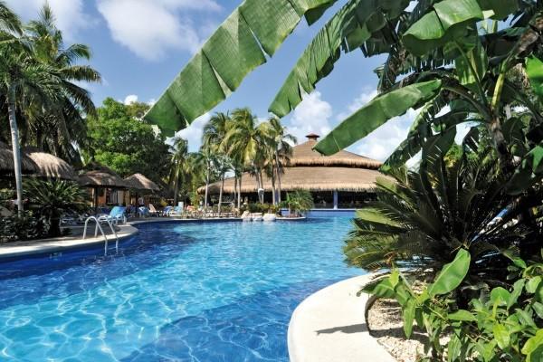 Piscine - Hôtel Riu Tequila 5* Cancun Mexique