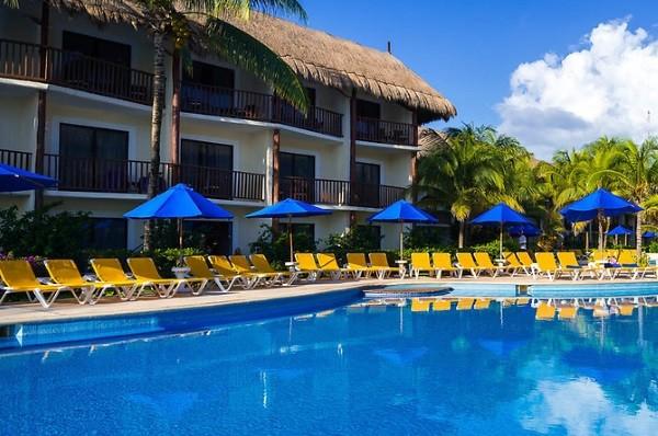 Piscine - Hôtel The Reef Coco Beach 4* Cancun Mexique
