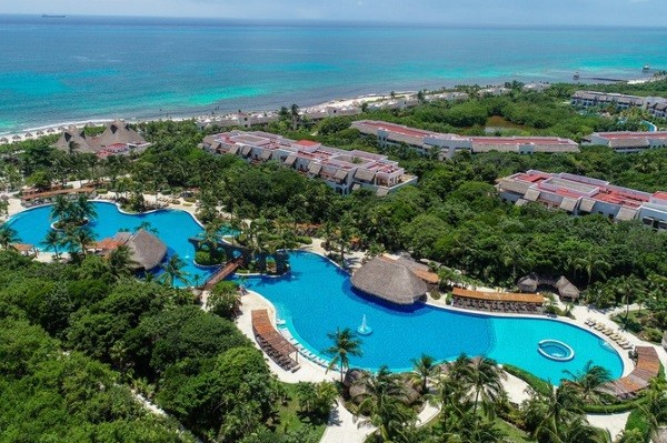 Piscine - Hôtel Valentin Impérial Riviera Maya 5* Cancun Mexique