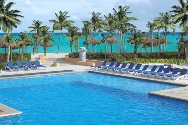 Piscine - Hôtel Viva Wyndham Azteca 4* Cancun Mexique