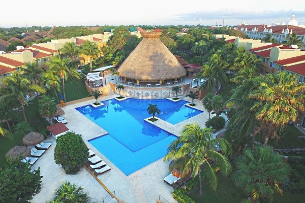 Piscine - Hôtel Viva Wyndham Azteca 4* Playa del Carmen Mexique