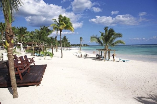 Plage - Hôtel Akumal Bay Beach & Wellness Resort 5* Cancun Mexique