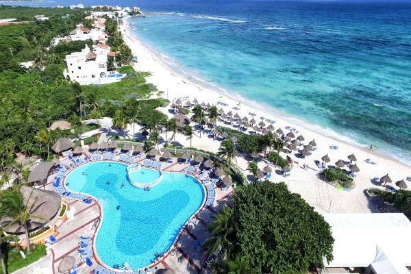 Plage - Hôtel Bahia Principe Grand Tulum 5* Cancun Mexique