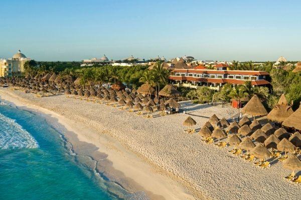 Plage - Hôtel Iberostar Paraiso Beach 5* Cancun Mexique