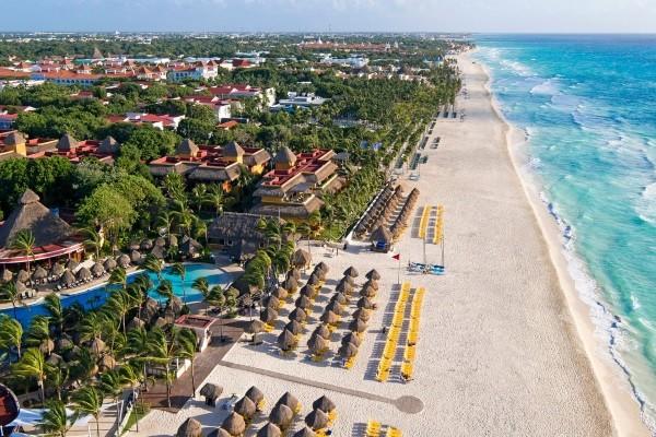 Plage - Hôtel Iberostar Quetzal 5* Cancun Mexique