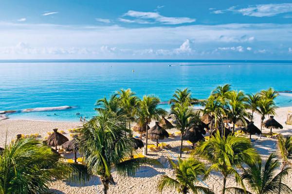 Plage - Hôtel Iberostar Tucan 5* Cancun Mexique