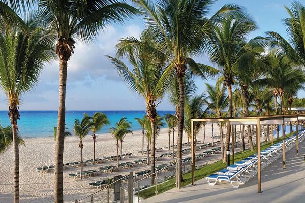 Plage - Hôtel Riu Yucatan 5* Cancun Mexique