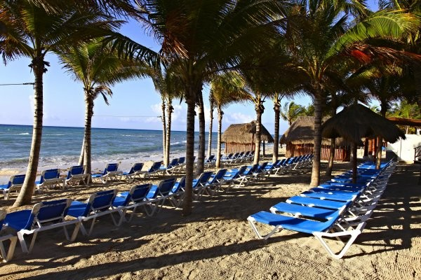 Plage - Sandos Caracol Eco Resort 5* Cancun Mexique